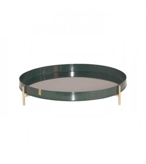 Return to Sender Metal Tray with Standard Green