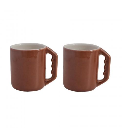 Return to Sender Espresso Cups Terra Set of 2