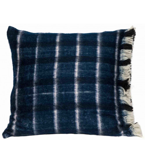 Return to Sender Cushion cover turn around blue