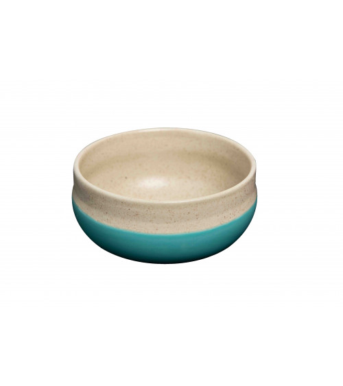 Return to Sender Two colour bowl turquoise