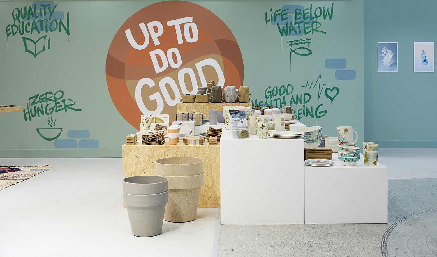 UP TO DO GOOD - Schiphol Plaza